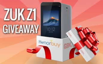 GSMArena giveaway: Enter to win a Lenovo ZUK Z1