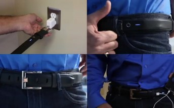 Carry your battery pack around the waist with the Ion Belt, now on Kickstarter