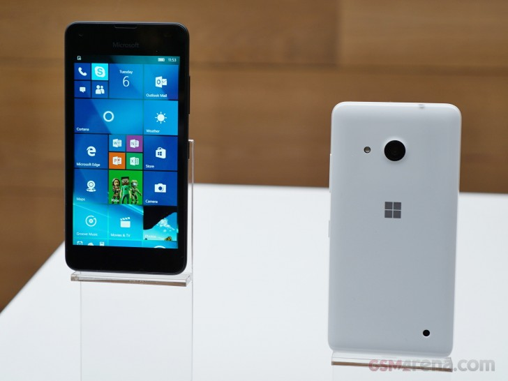 Microsoft Lumia 550 Is Up For Pre Order In The Eu Yours