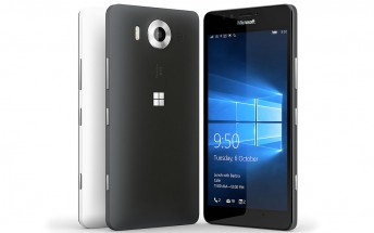 Microsoft Lumia 950 goes official with PureView camera, liquid cooling