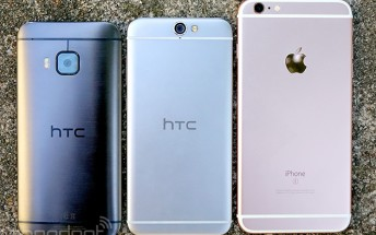 HTC exec on One A9's iPhone-like design: It's actually Apple who copied us