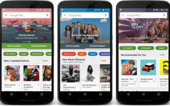 Redesigned Google Play Store is now rolling out