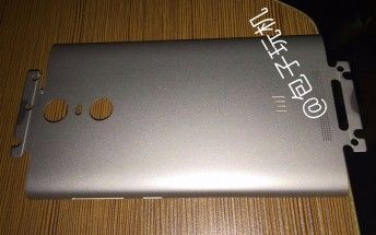 Upcoming Xiaomi Redmi Note 2 Pro has its metal back leaked
