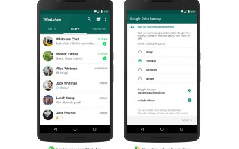 WhatsApp content backup to Google Drive finally becomes official