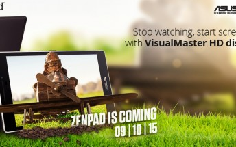 Asus will launch a ZenPad tablet in India on October 9