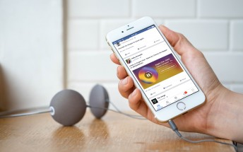 Facebook for iOS now previews Apple Music and Spotify songs in News Feed