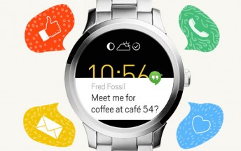 Newly-launched Fossil Q Founder spotted listed on Google Store