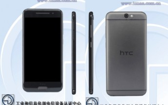HTC A9w with octa-core CPU and 5-inch display certified by TENAA