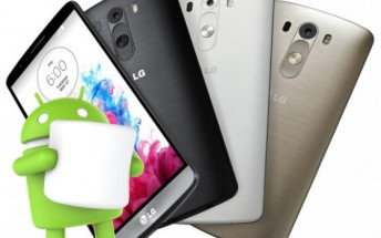 LG G3 to get Marshmallow in mid December