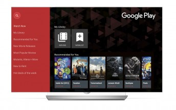 Google Play Movies & TV landing on an LG smart TV near you this month
