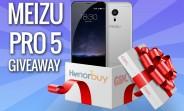 GSMArena Meizu PRO 5 giveaway: the lucky winner has been drawn!