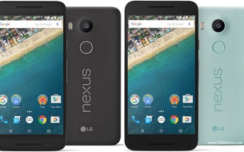 Nexus 5X now up for pre-order in Europe, ships November 9