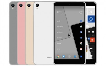 New render claims to depict upcoming Nokia C1 running Android and Windows 10 Mobile