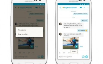 Skype for Android updated with enhanced search and ability to save video messages