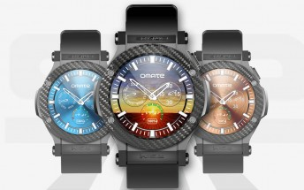 Omate Rise is a 3G-enabled Android watch with a regular SIM card
