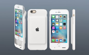 Apple Smart Battery Case for iPhone 6 and 6s extends your battery life, looks iffy