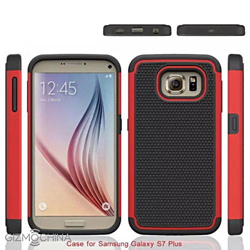 Alleged Samsung Galaxy S7 and Galaxy S7 Plus cases leak ...