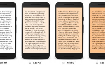 Google Play Books introduces Night Light feature