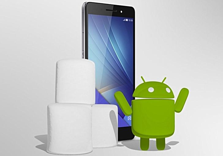 تحديث المارشميلو 6.0 يبدأ في الوصول الي هاتف Huawei Honor 7