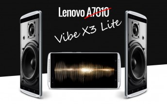Lenovo A7010 is actually the Vibe X3 Lite