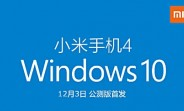 Windows 10 Mobile for Xiaomi Mi 4 officially launching this week