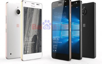 Another leak of the Microsoft Lumia 850, now in 4 color schemes