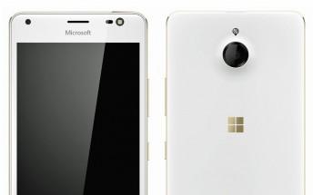Microsoft Lumia 850 (Honjo) leaked in full glory