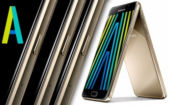 Samsung Galaxy A7, A5 and A3 (2016) announced with metal and glass bodies