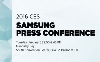 Samsung details CES press conference, Galaxy S7 a no-show