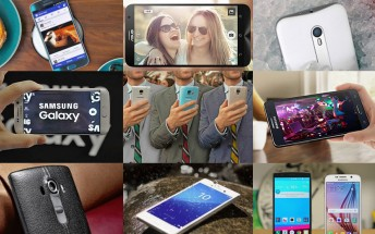 Top smartphone reviews of 2015