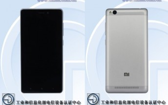 Xiaomi smartphone with 5-inch display and octa-core CPU passes through TENAA