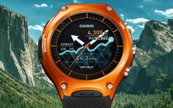 Casio's new Android Wear smartwatch is aimed at those involved in outdoor activities