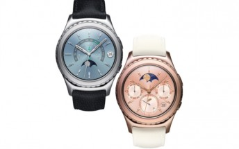 Samsung Gear S2 Classic now officially has Platinum and 18K Rose Gold options