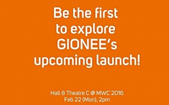 Gionee Elife S8 to be launched at MWC next month