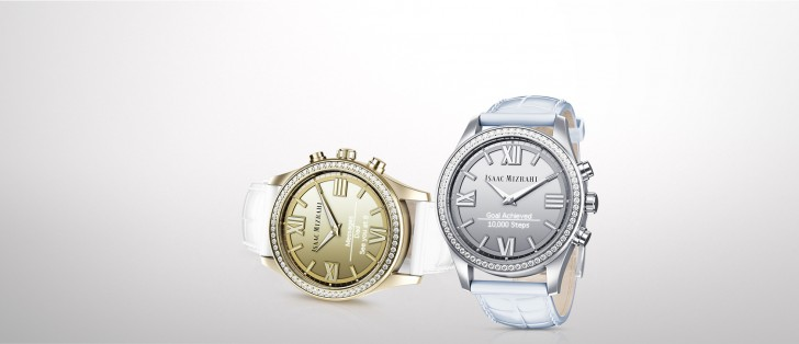 Isaac Mizrahi-designed HP smartwatch has classic looks ...