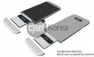 LG G5 said to feature a modular design for sliding out its battery
