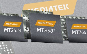 MediaTek introduces three new SoCs