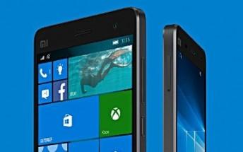 Xiaomi Mi 4 Windows 10 variant receiving new update