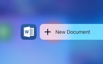 Microsoft updates Office apps for iOS with support for 3D Touch gestures and Apple Pencil