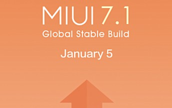 Xiaomi MIUI 7.1 to roll out starting tomorrow