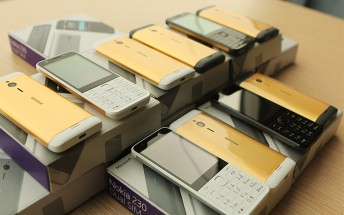 Nokia 230 24K-gold-plating costs more than the phone, still worth it