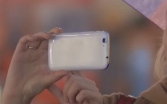 Is this the new Nokia phone in the company latest video?