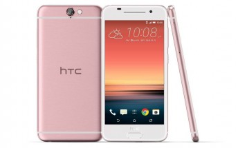 HTC One A9 now also comes in pink