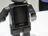 RoboHon's torso is where the screen, ports, switches and slots are located. - News 16 01 Robohon CES2016  review