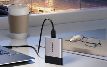 Samsung's new portable SSD lets you carry around 2TB of data