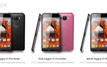 Saygus V2 with dual microSD card slots will finally start shipping this quarter