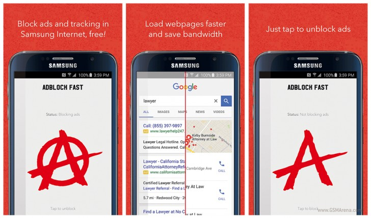 gsmarena 001 AdBlock Fast for Samsungs Android browser is now back in the Play Store