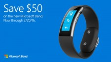 Save $50 on Microsoft Band 2, $100 on Surface Pro 4