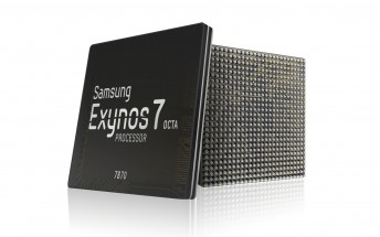 Samsung acknowledges the 14nm mid-range Exynos 7 Octa 7870 chipset