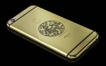 Goldgenie's new 24k iPhone 6s Elite celebrates the Year of the Monkey